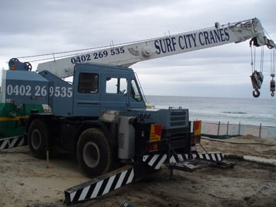 Surf city crane services