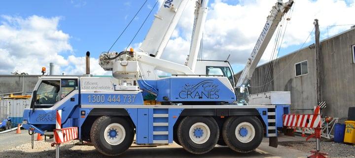 35T All Terrain Cranes